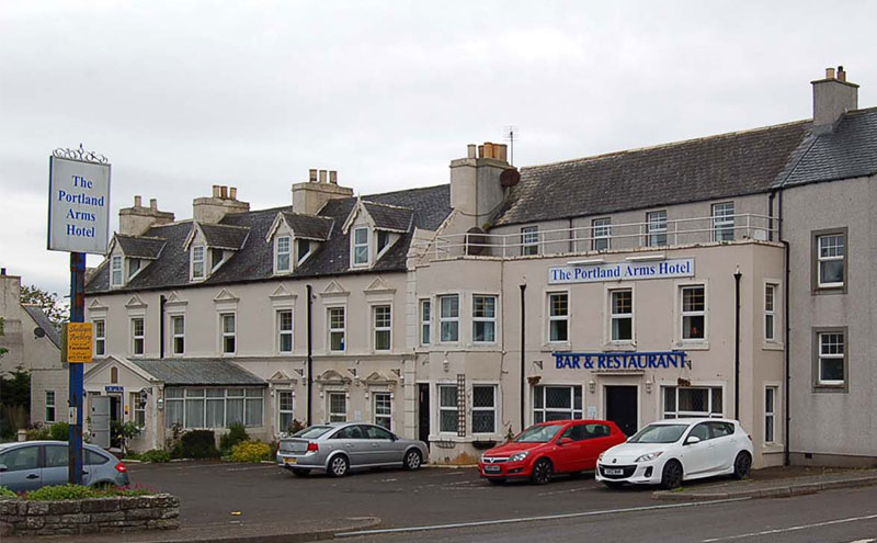 The Portland Arms Hotel has sold.