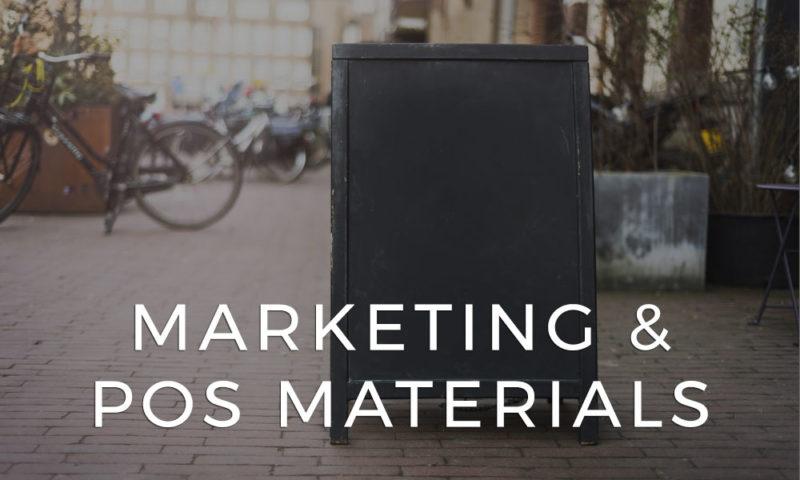 Marketing & POS Materials