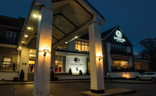 Hotel firm doubles up