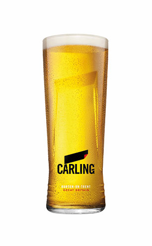 Pint of Carling