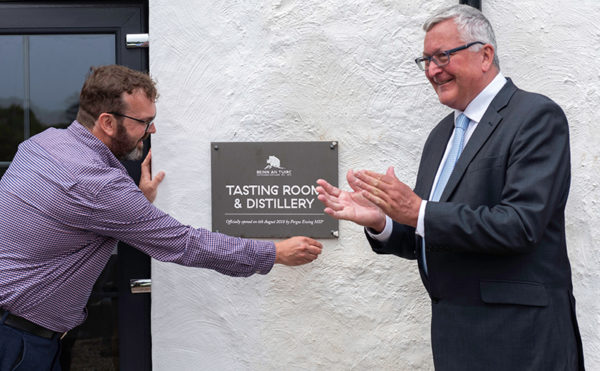 It's official for distillery