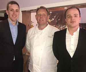 Brian Maule at Chardon d'Or Restaurant, Glasgow