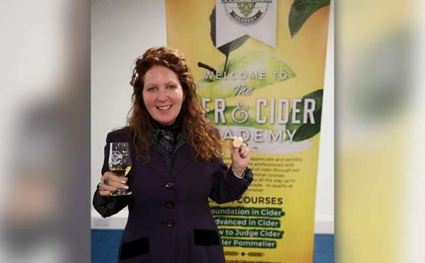 Cheers to cider sommelier