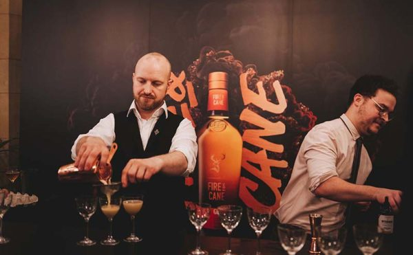 Whisky giant fires things up