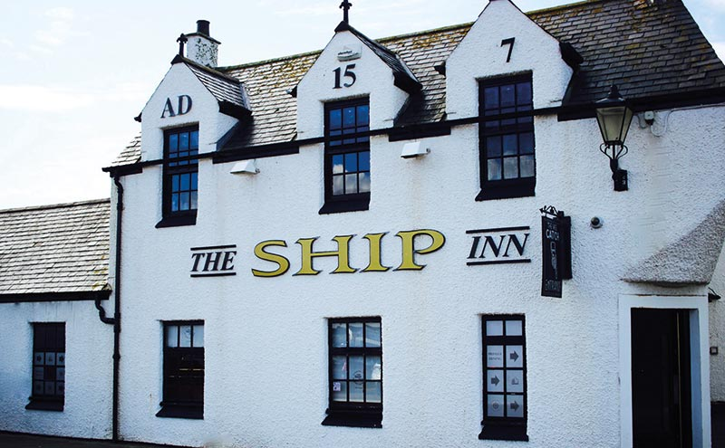 The Ship Inn was upgraded in 2008