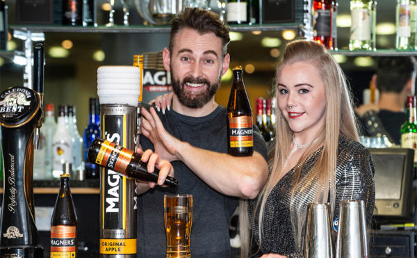 Graduates raise a glass to Magners