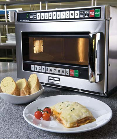 lasagne in microwave