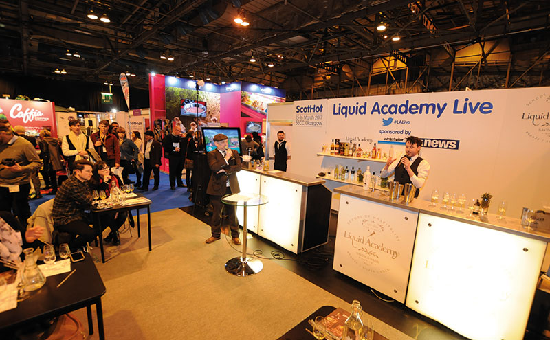 Similar to Liquid Academy Live's 2017 stage, this year's line-up will see industry experts host drinks sessions that aim to educate and inspire