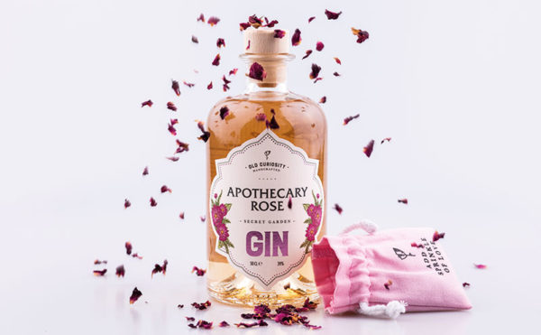 Roses are pink with new gin