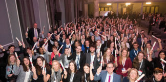 This year's HIT Scotland scholars celebrate their success in Glasgow