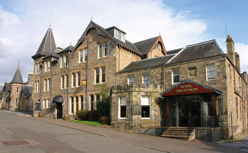 Scotland's Hotel & Leisure Club is to be extensively refurbished at a cost of £2 million