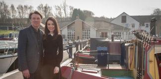 Ryan-Barrie-&-Aisling-Friel,-Boathouse-Kilsyth
