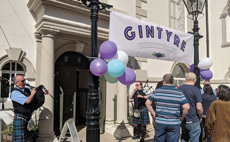 The second annual Gintyre festival takes place at Campbeltown Town Hall on April 13