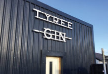 Tyree Gin is now produced in-house on the island of Tiree and has undergone a rebrand