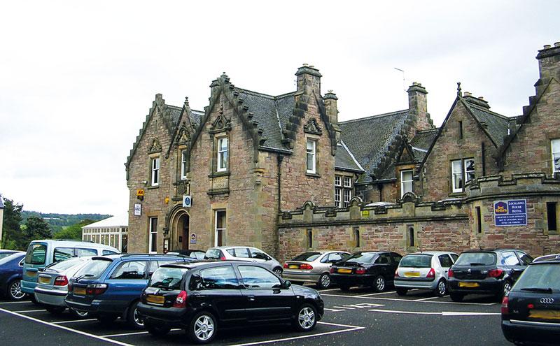The Lochardil Hotel in Inverness