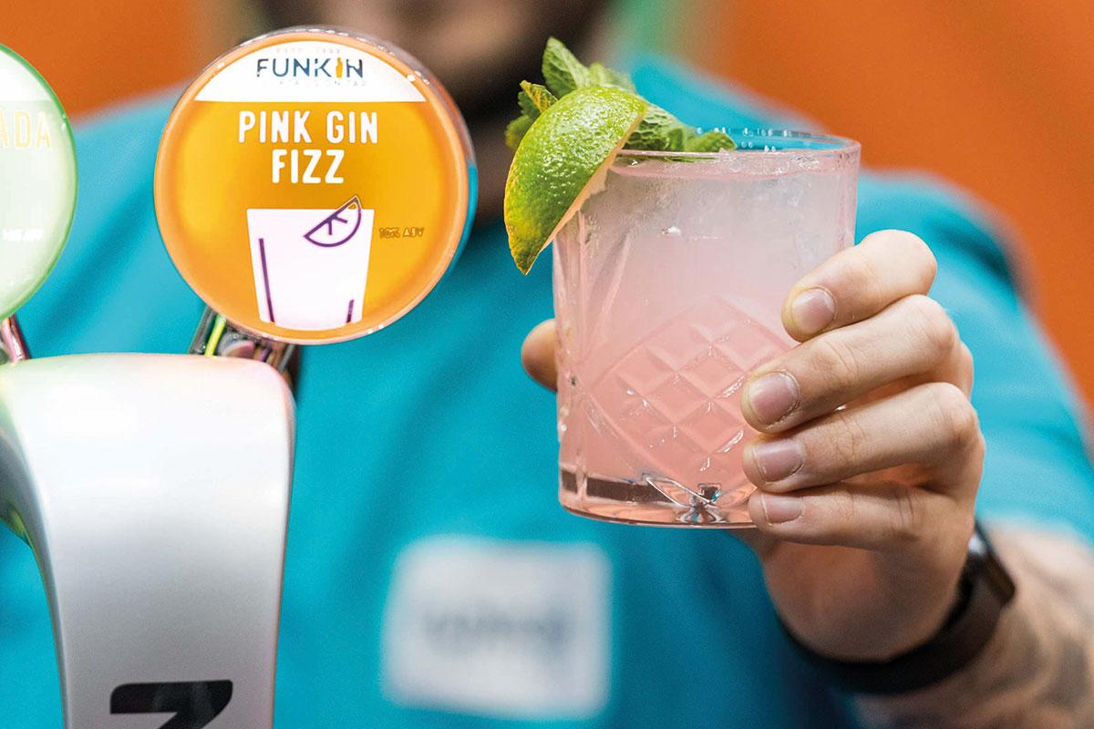 Funkin Pink Gin Fizz
