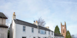 The Inn at Kippen in Stirlingshire is housed within an 18th century coaching inn