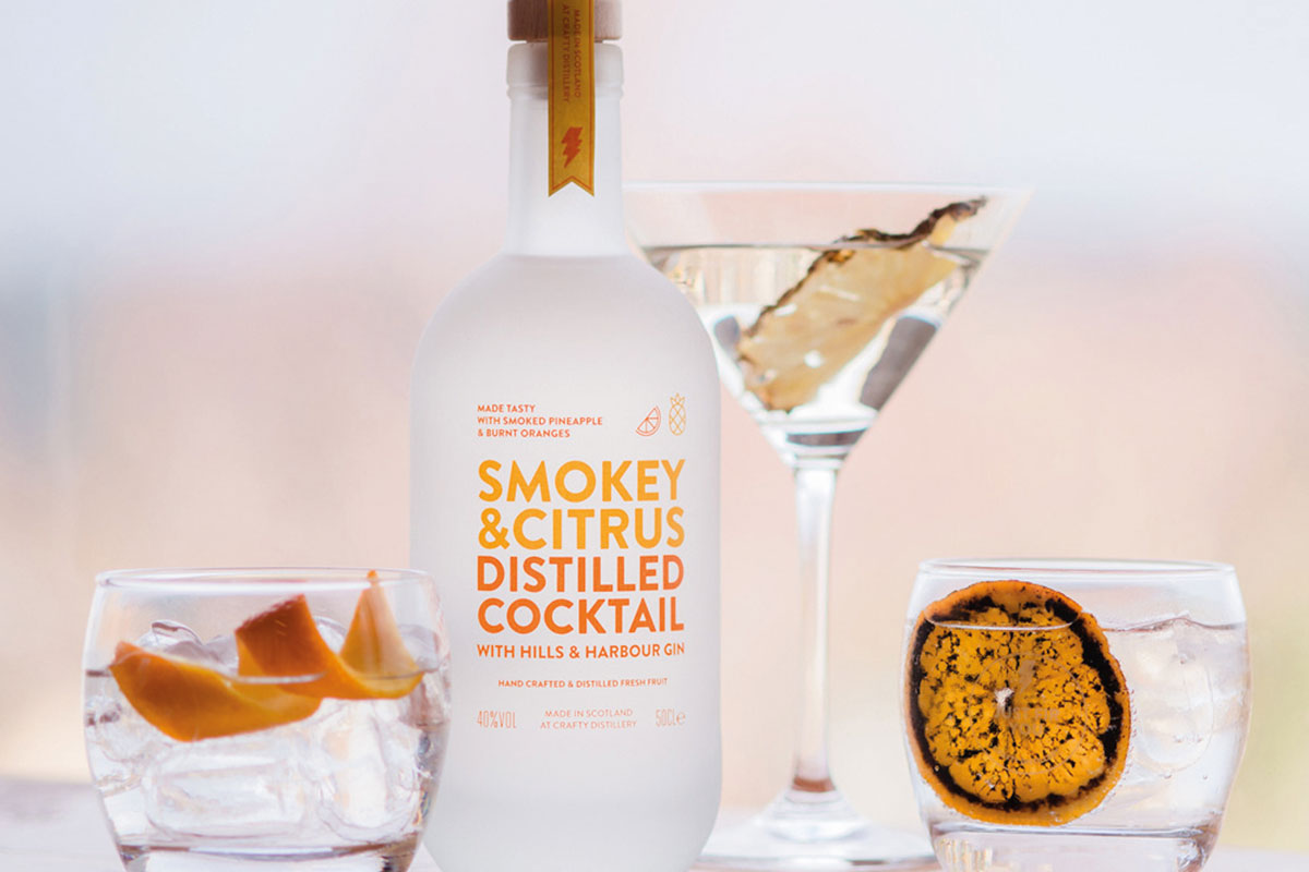 Smokey-&-Citrus-Distilled-Cocktail