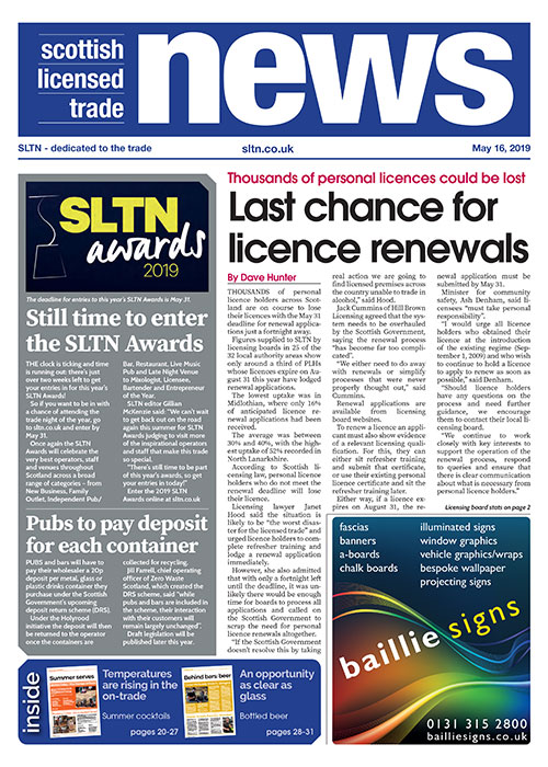 SLTN front cover May 15 2019