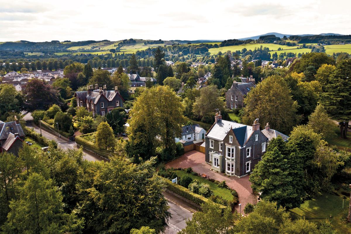 The Bridge House in Moffat has seven en suite letting bedrooms