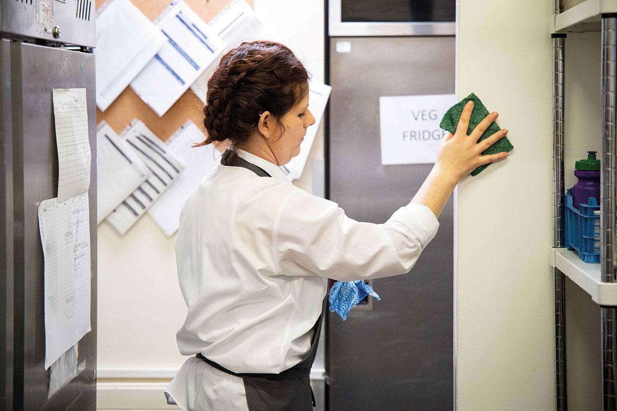 staff-cleaning-Kitchen