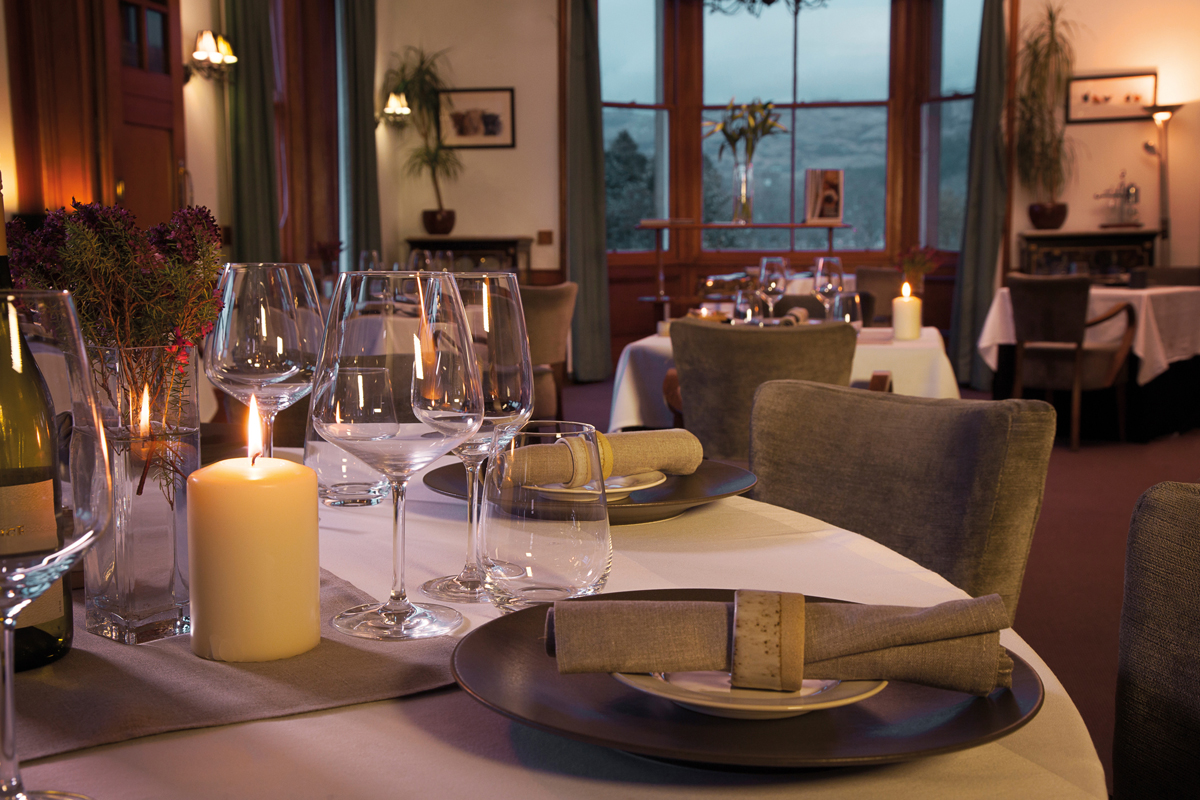 Dining room at The Lovat