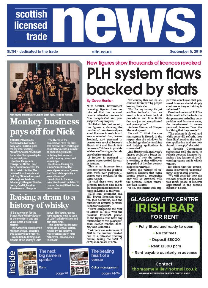 SLTN front cover September 5 2019