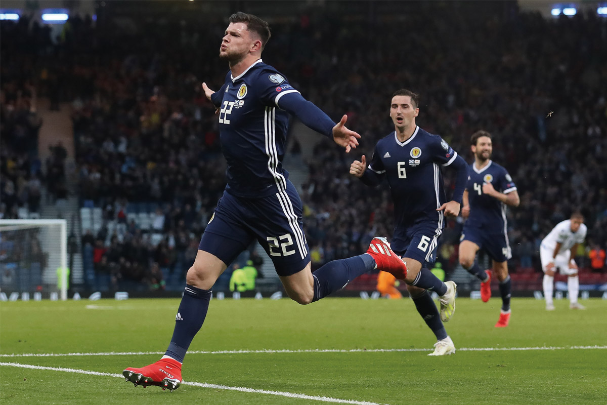 SCOTLAND-FOOTBALL-TEAM