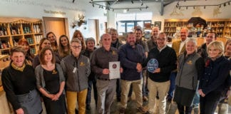 The team at Ardnahoe Distillery