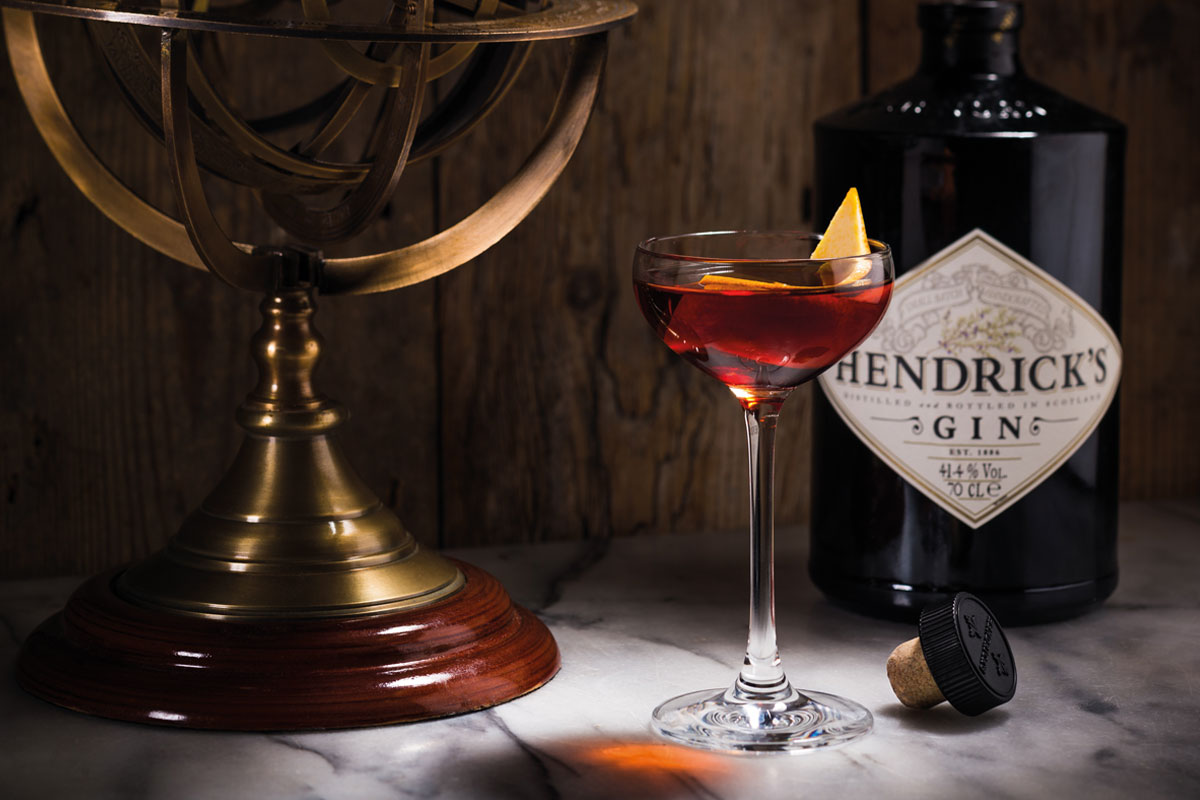 Hendrick's cocktail
