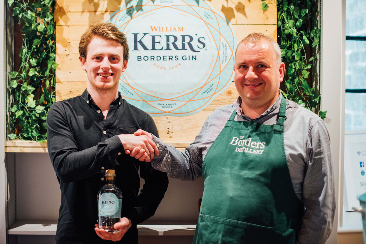 Kerrs Gin Borders Distillery Contest