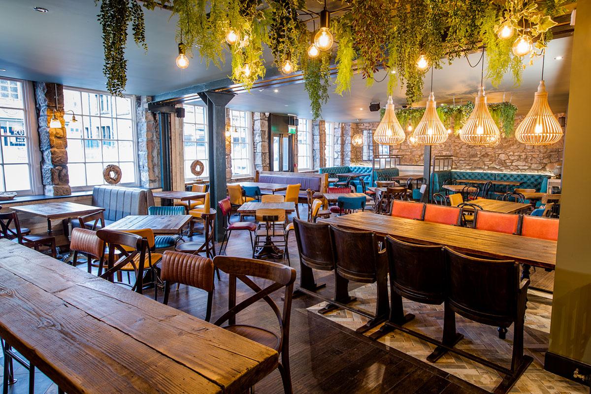 Blackfriars Bar, Inverness interior refurbishment