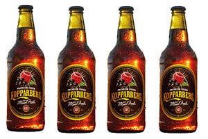 Kopparberg bottles