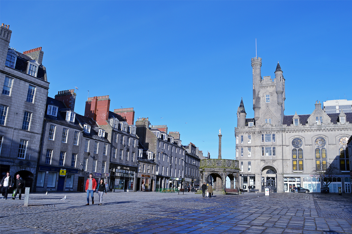 Aberdeen, Scotland's 3rd-largest city, put on lockdown