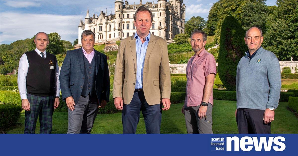 Dunrobin Castle social.'