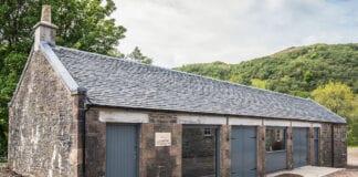 Beinn an Tuirc distillery exterior