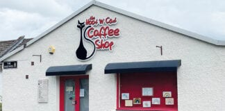 The Hoot n Cat Coffee Shop exterior