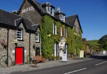 Cuilfail Hotel in Oban exterior