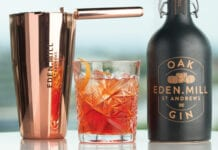 Eden Mill Oak Gin bottle