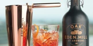 Eden Mill Oak Gin bottle