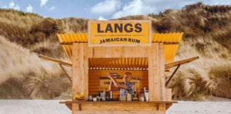 Langs rum shack beach Scotland