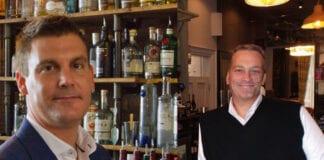Scott Murray of Cru Holdings and Nic Wood of Signature Pub Group