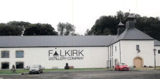 The brand new Falkirk Distillery