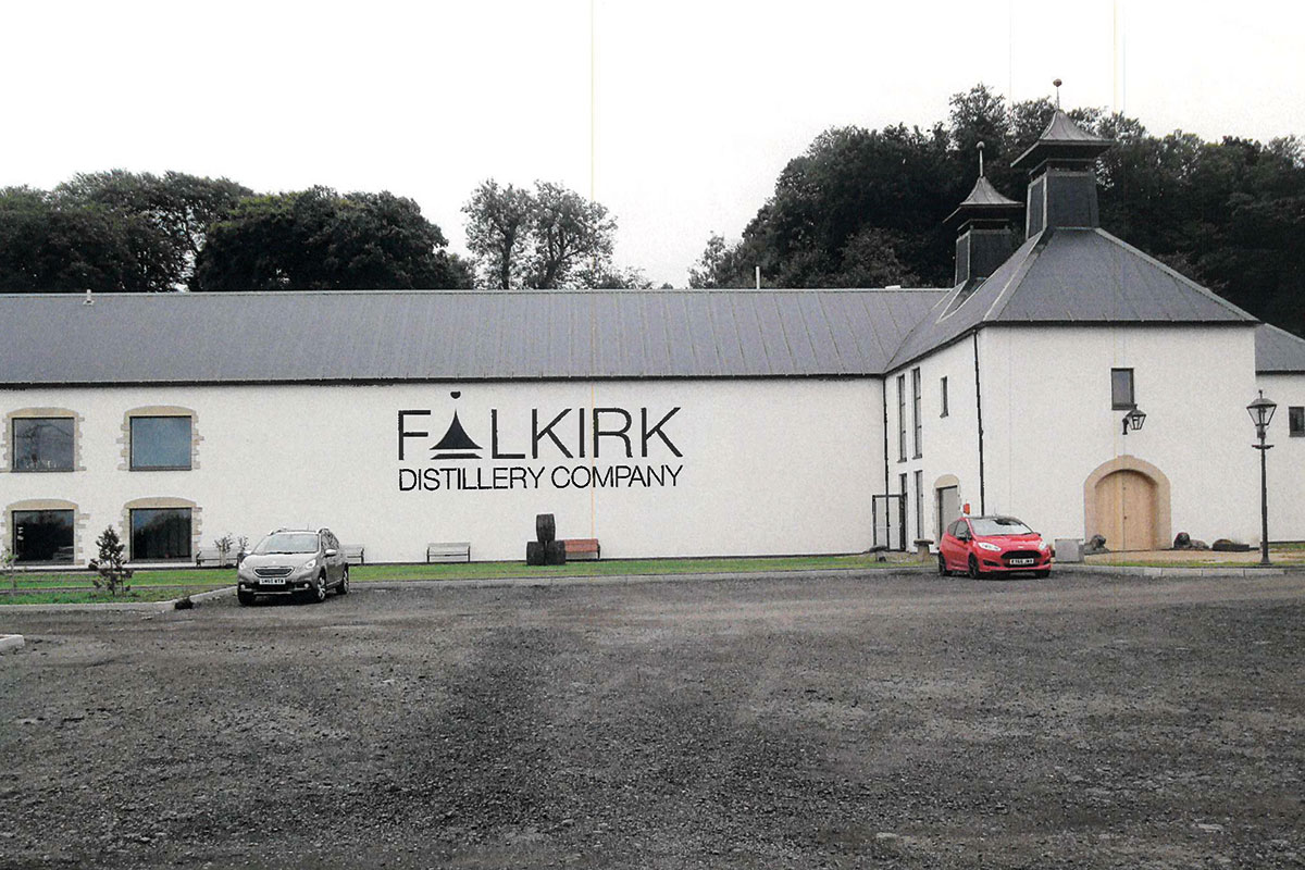The brand new Falkirk Distillery