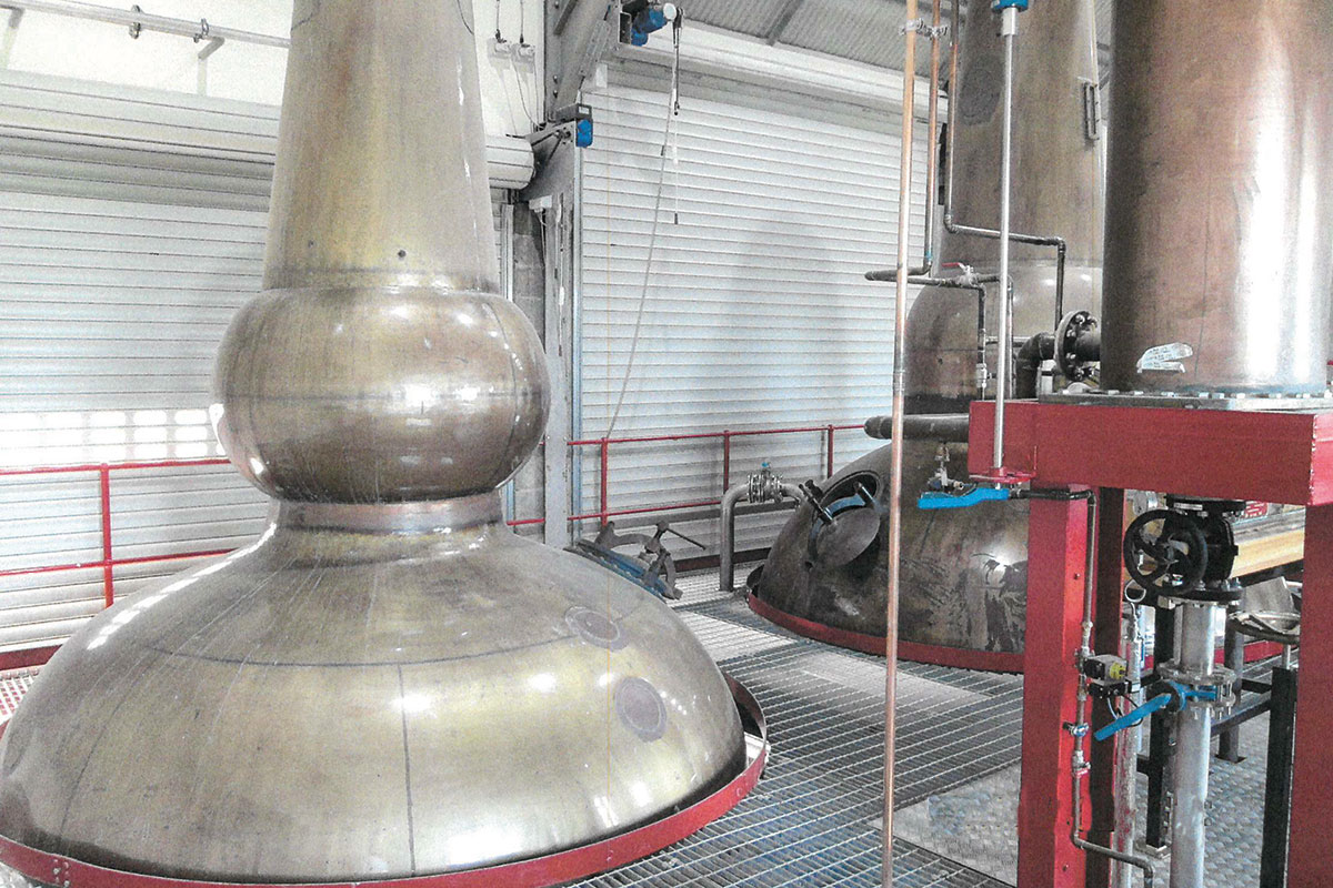 the brand new distillery features the stills, washbacks and mash tun from Caperdonich Distillery in Speyside