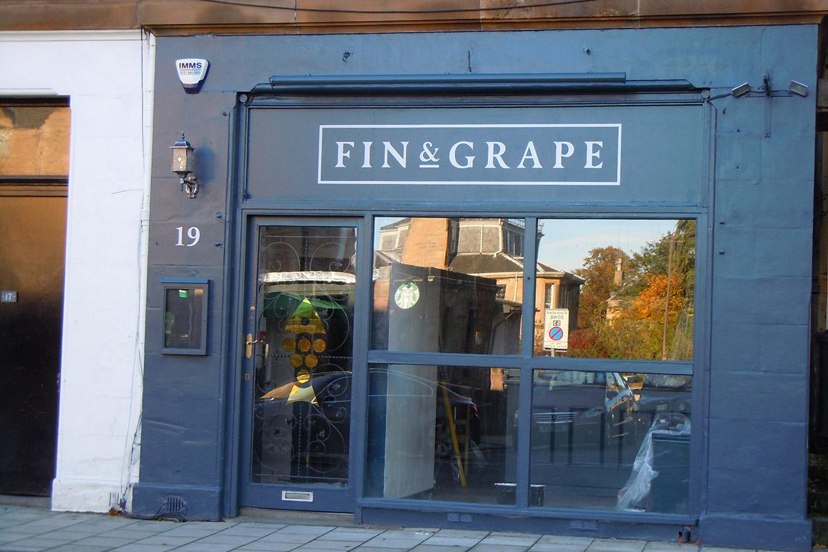 Fin & Grape exterior