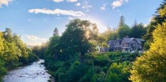 Invergarry Hotel overlooking river