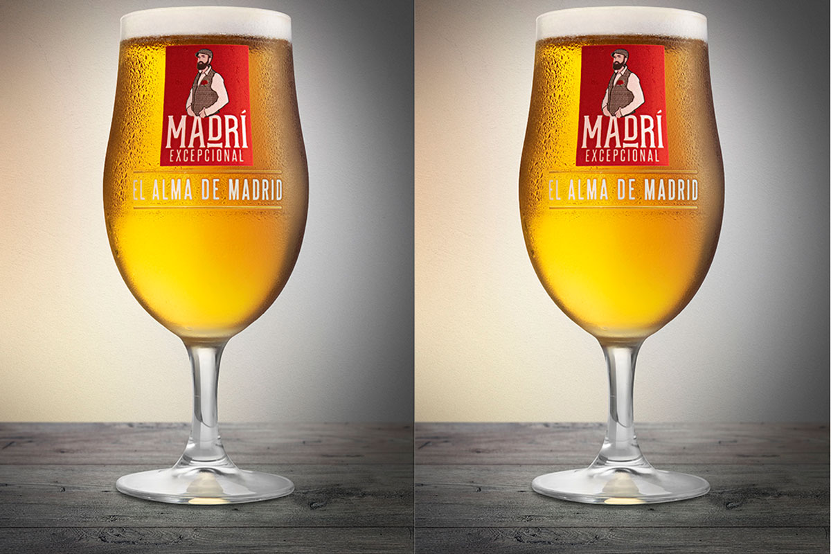All about soul: the lager is said to capture 'El alma de Madrid' - the soul of Madrid.